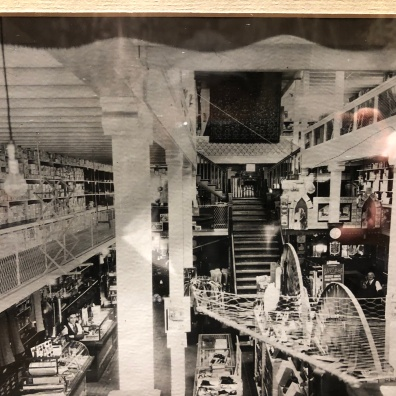 Inside of the General Store in the early 1900s