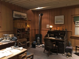 Recreation of Pope and Talbot mill office