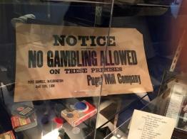 No gambling in Port Gamble :-}