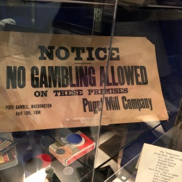 No gambling in Port Gamble :-}