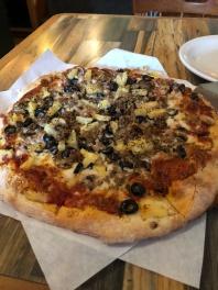 Delicious pizza Waterfront Pizza