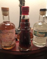 My delicious haul from the Hardware Distillery. Very excited to try out the Dill Aquavit!